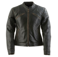 Black Brand Women's Charmer Black Leather Jacket