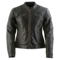 Black Brand Women's Charmer Black Leather Jacket