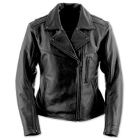Black Brand Women's Enchantress Black Leather Jacket