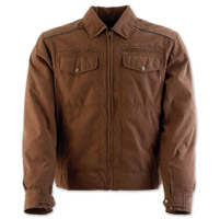 Black Brand Men's Street Team Brown Textile Jacket