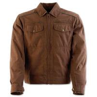 Black Brand Men's Street Team Brown Textile Jacket
