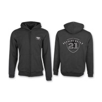 Highway 21 Men's Industry Logo Black Hoodie