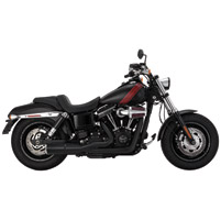 Vance & Hines Hi Output 2 Into 1 Exhaust Black Short