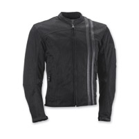 Highway 21 Men's Turbine Black Mesh Jacket