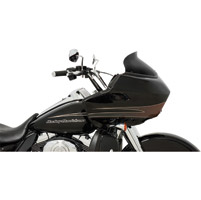 Memphis Shades 5-1/2″ Black Opaque Spoiler Windshield