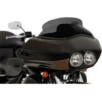 Memphis Shades 6-1/2″ Black Opaque Spoiler Windshield