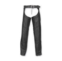 Highway 21 Men's Maverick Black Chaps