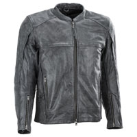 Highway 21 Men's Gunner Gun Leather Jacket