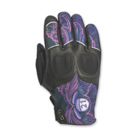 Highway 21 Women's Vixen Purple Leather Gloves