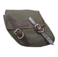 LaRosa Design Eliminator Army Green Canvas Swingarm Bag