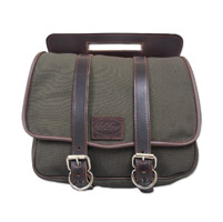 LaRosa Design Eliminator Army Green Canvas Swingarm Bag