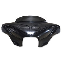 Reckless Motorcycles Dark Night 4-Speaker Batwing Fairing
