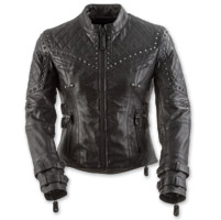 Black Brand Women's Brazilian Wax Black Leather Jacket
