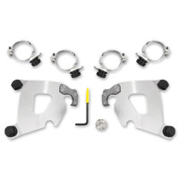 Memphis Shades Polished Cafe Fairing Trigger-lock Mounting Kit