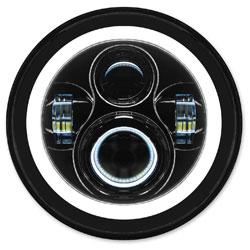 HogWorkz 7″ LED Blackout HaloMaker Headlight Kit