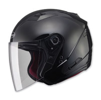 GMAX OF77 Black Open Face Helmet