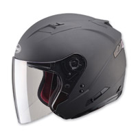 GMAX OF77 Matte Black Open Face Helmet