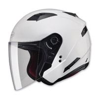 GMAX OF77 Pearl White Open Face Helmet