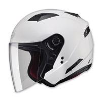 GMAX OF77 Pearl White Open Face Helmet