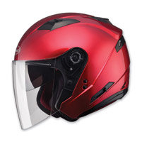 GMAX OF77 Candy Red Open Face Helmet