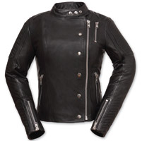 First Manufacturing Co. Women's Warrior Princess Black Leather Jacket