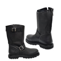 Milwaukee Motorcycle Clothing Co. Men's Raider Black Leather Boots