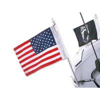 Rivco Trunk Mounted Double Flag Holder Kit