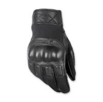 Highway 21 Men's Revolver Black Leather Gloves