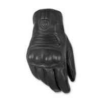 Highway 21 Men's Haymaker Black Leather Gloves