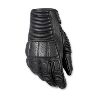 Highway 21 Men's Trigger Black Leather Gloves