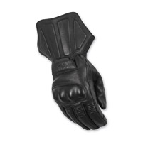 Highway 21 Men's Deflector Black Leather Gloves
