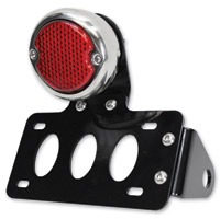 TC Bros. Choppers LED 33 Ford Replica Side Mount Tail Light/License Plate Bracket