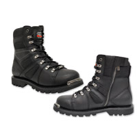 Milwaukee Motorcycle Clothing Co. Men's Ranger Black Leather Boots