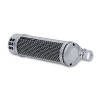 Kuryakyn Road Thunder Silver Sound Bar by MTX