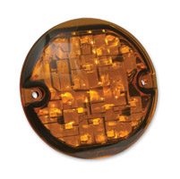Kuryakyn LED Amber ECE Compliant Single Circuit Turn Signal Inserts