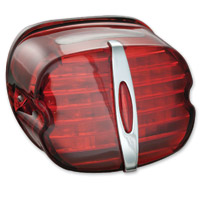 Kuryakyn LED Deluxe Red ECE Compliant Taillight with Plate Light