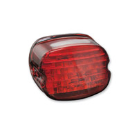 Kuryakyn LED Red Low Profile ECE Compliant Taillight with Plate Light