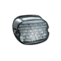 Kuryakyn LED Smoke Low Profile ECE Compliant Taillight with Plate Light
