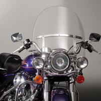 National Cycle 20″ Clear Replacement Windshield for Road King