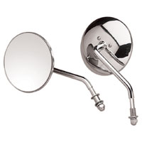 J&P Cycles® Late-Style 4″ Round Mirror