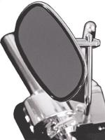 J&P Cycles® Chrome Stock Replacement Mirror