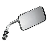 J&P Cycles® Chrome Universal Rectangular Mirror
