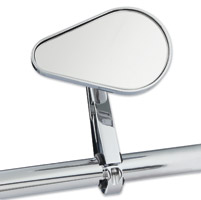 J&P Cycles® Clamp-On Teardrop Mirror