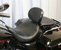 Danny Gray BigSeat Smooth Seat w/ Backrest Receiver