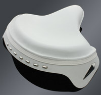 V-Twin Manufacturing Deluxe Solo Saddle Police Style