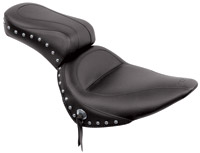 Mustang One-Piece Skirted Seat with Studs