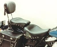 Mustang One-Piece Wide Studded Touring Seat