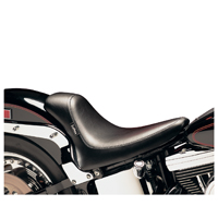 Le Pera Silhouette Smooth Bullet Solo Seat with Biker Gel