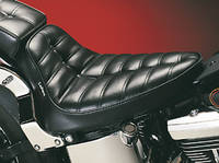 Le Pera Cobra Pleated Solo Seat