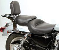 Harley-Davidson Sportster Seats & Backrests | JPCycles com